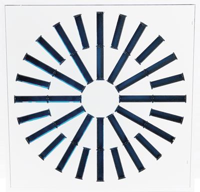 AXO-S-UV High Induction Swirl UV Diffuser for Standard CFM