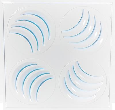 PLAY-UV Adjustable Swirl UV Diffuser