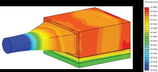 Pressurizing the Air in UV Diffusers Plenum