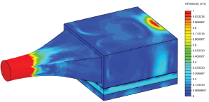 Decreasing Air Velocity to Increase UVC Irradiation Efficiency