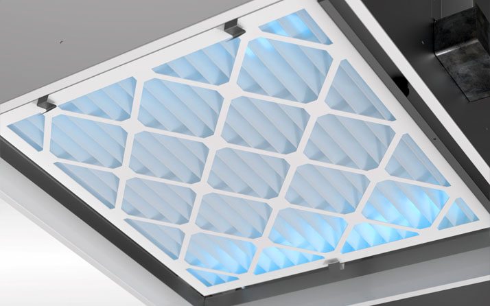 UV Diffusers use air filtration to clean the air